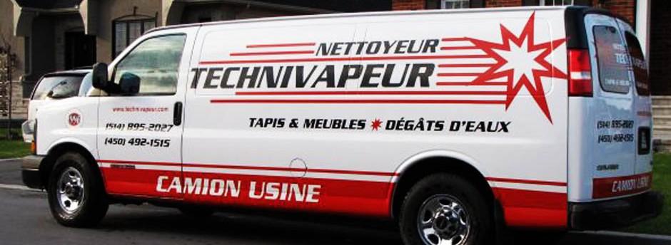 Nettoyage Tapis & meuble Dégâts d'eau Technivapeur