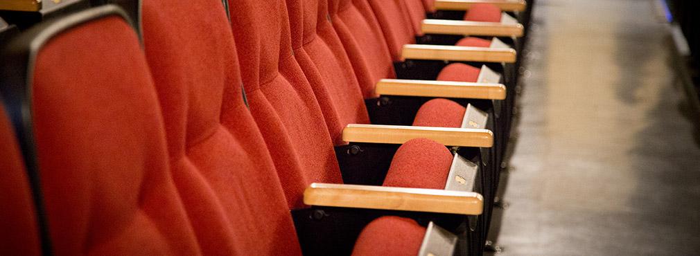 Nettoyage des sièges théâtres